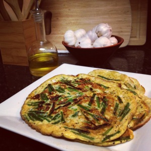 Egg & Chive Pancakes