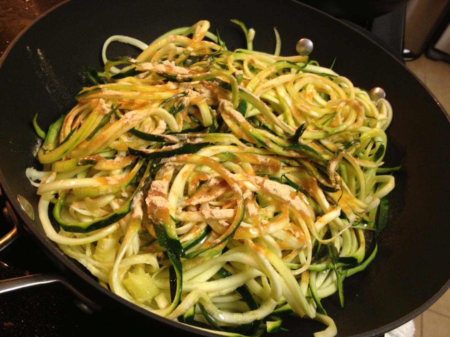 Paleo Catwon Zoodles Pan