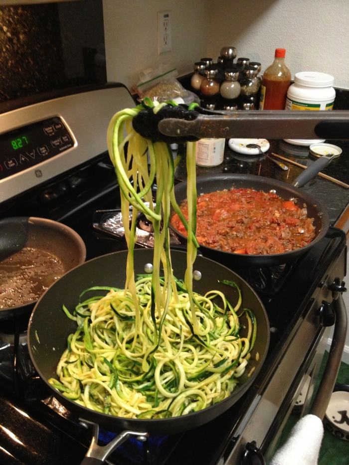 Paleo Catwon Zoodles