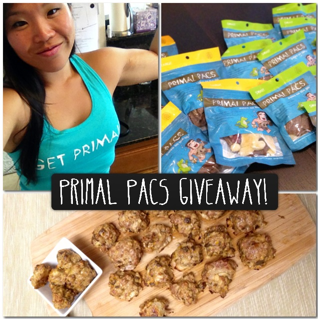 Primal Pacs Giveaway - Paleo Catwon