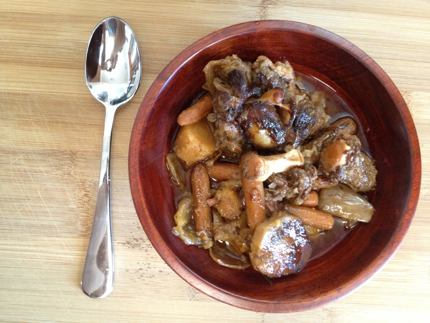 Paleo Catwon Oxtail Stew