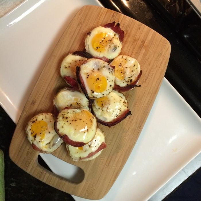 Paleo Catwon Leftover Christmas Ham & Egg Muffins