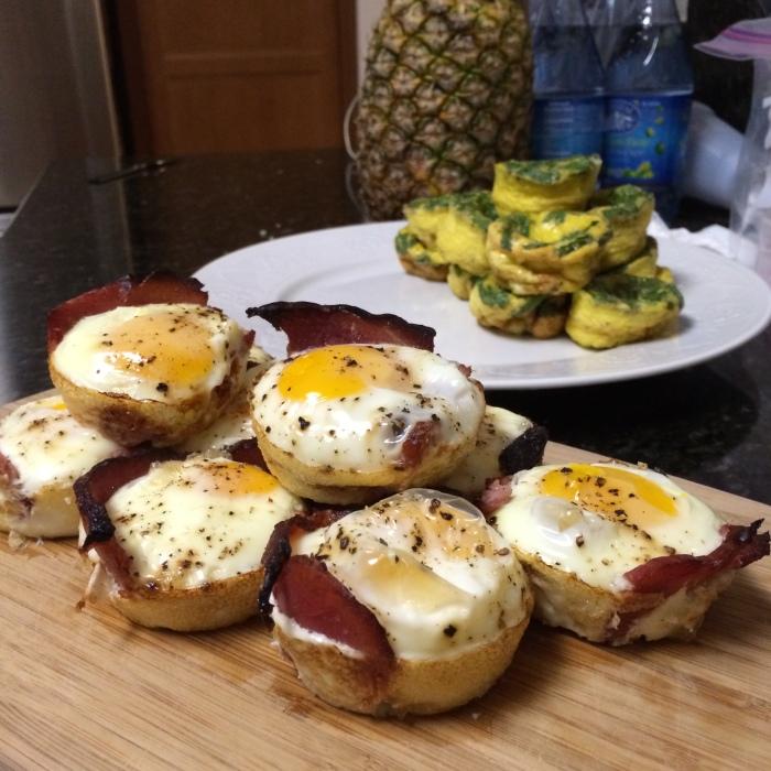Paleo Catwon Leftover-Christmas-Ham Egg Muffins