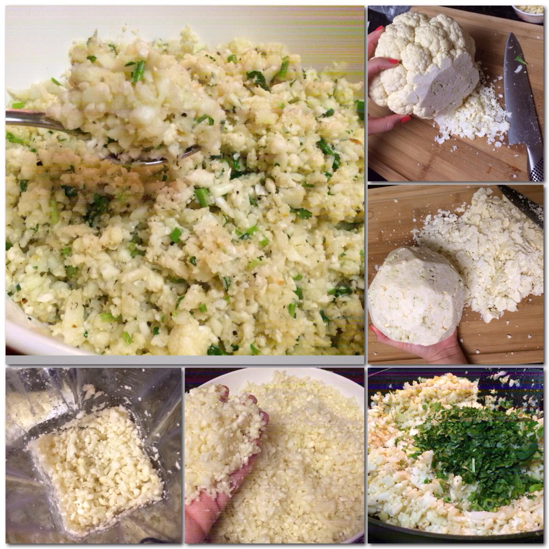 Paleo Catwon Garlic Cilantro Cauli-Rice