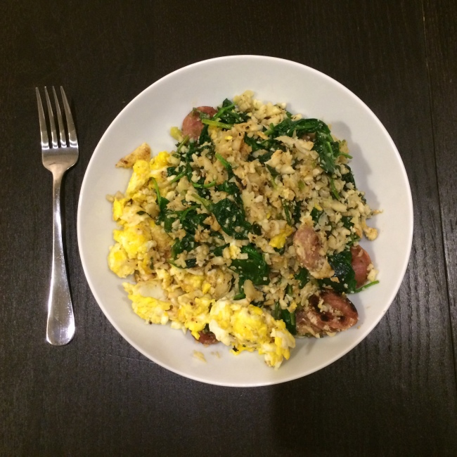 Paleo Catwon - Garlic Fried Rice