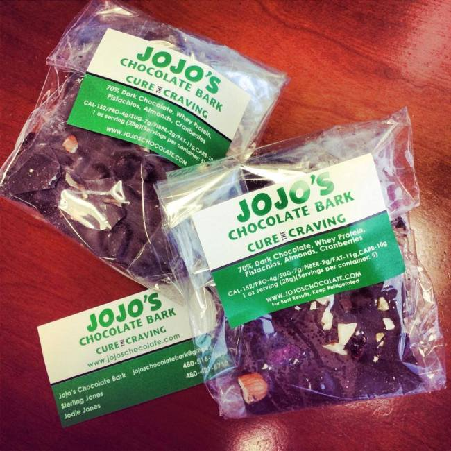 Jojo's Chocolate Bark