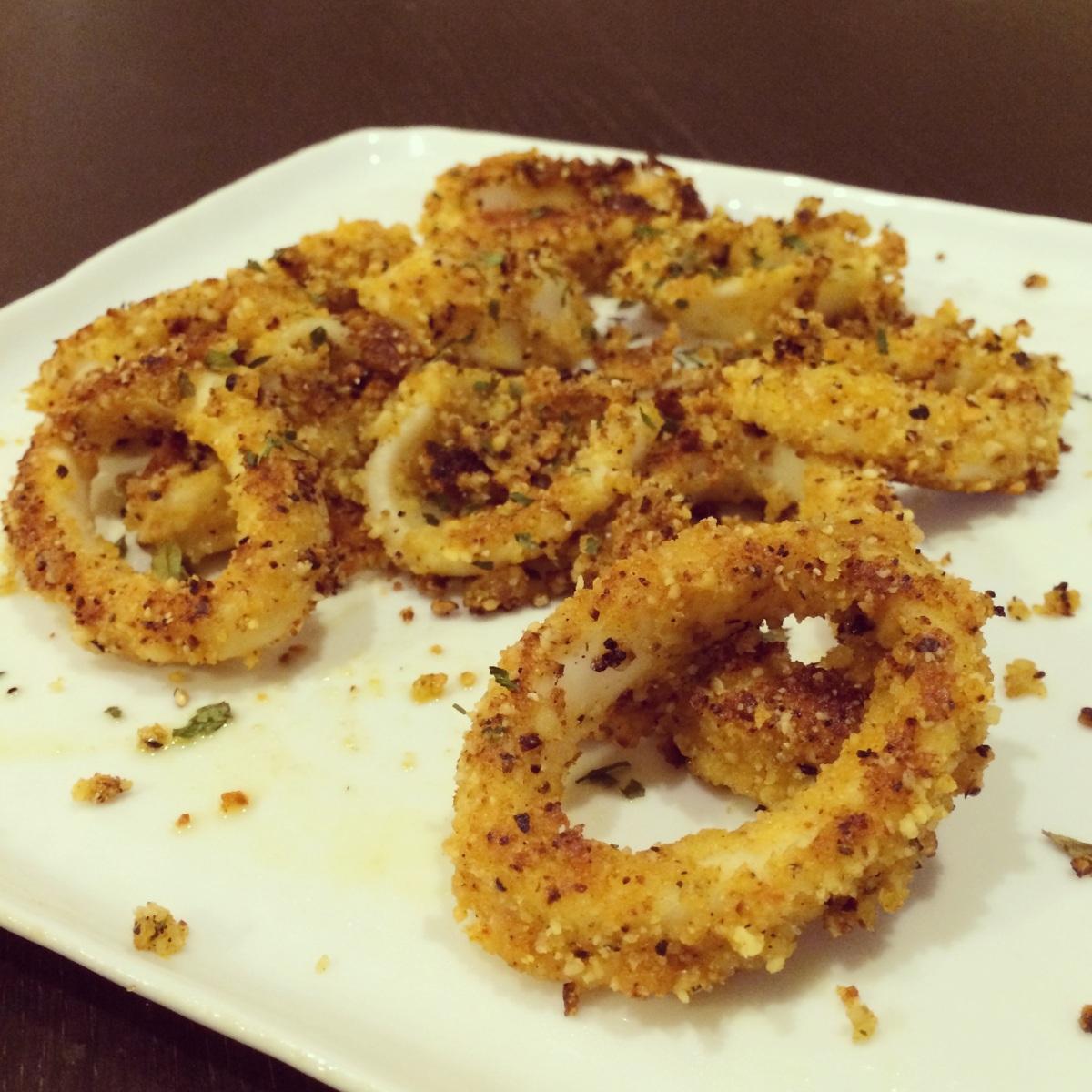 Almond Flour Calamari