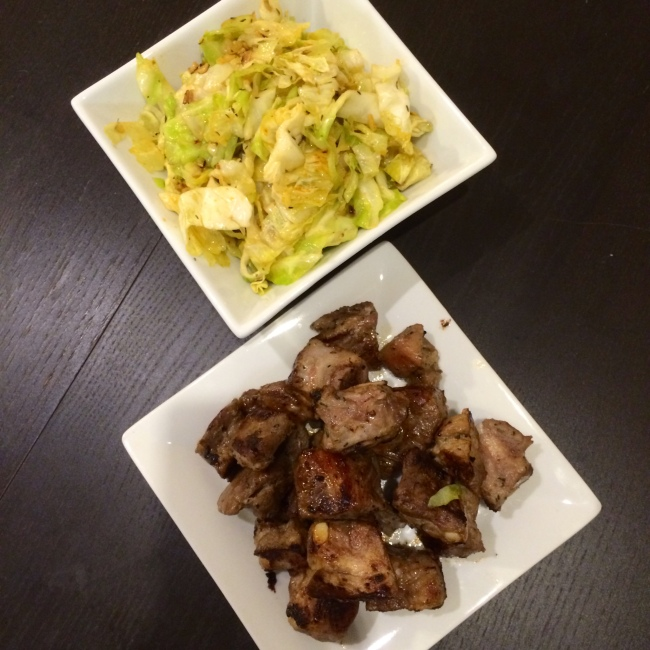 Paleo Catwon - Garlic Balsamic Pork Spareribs