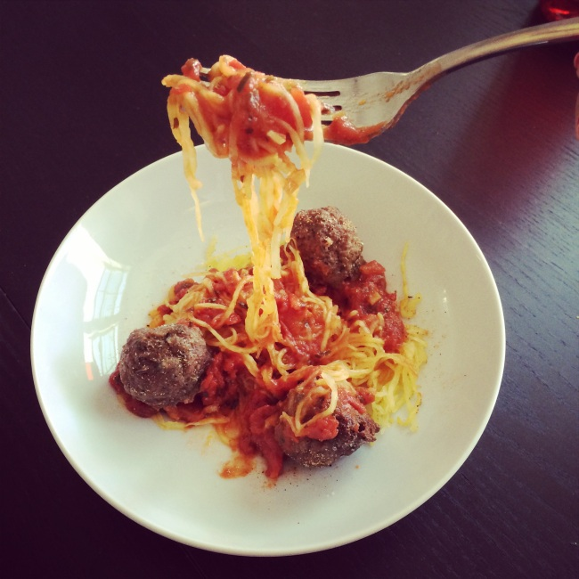 Pasghetti & Meatballs - Paleo Catwon