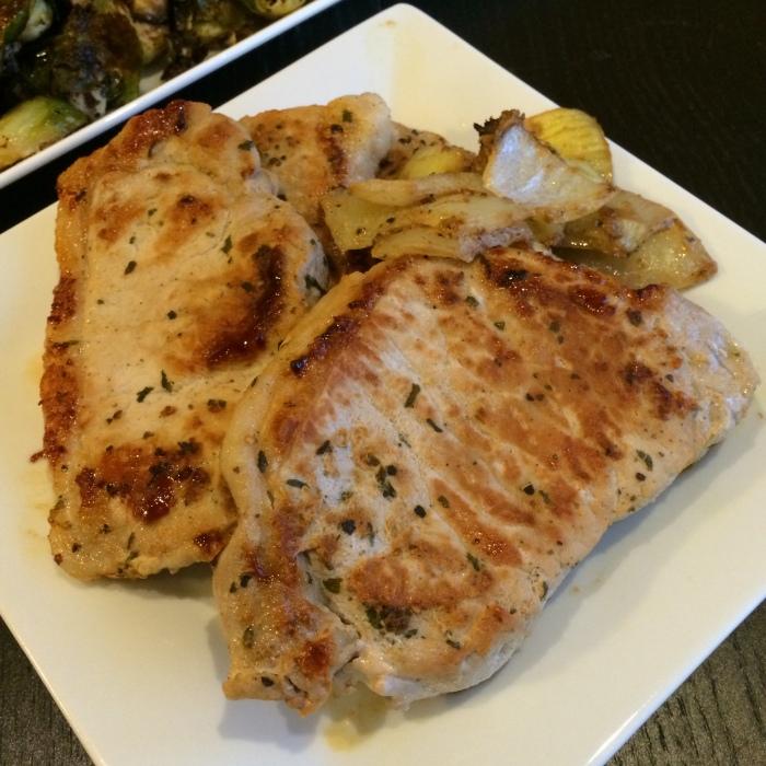 Paleo Catwon Pork Chops