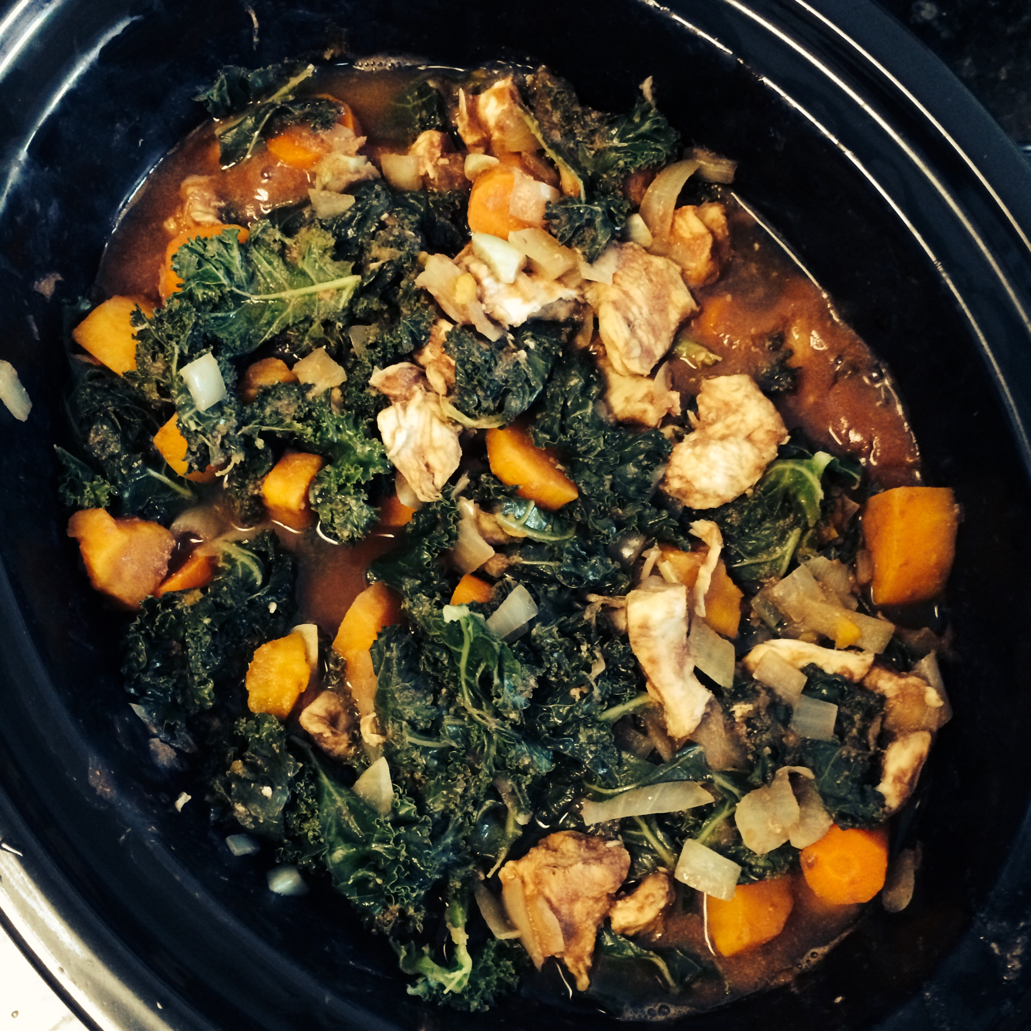 Image result for chicken sweet potato kale stew