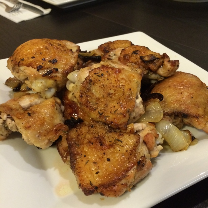 Paleo Chicken Thighs