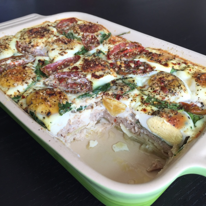 Paleo Catwon Breakfast Bake