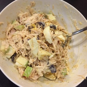 Paleo Catwon Chicken Salad, the Mayo Kind