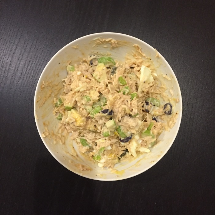 Paleo Catwon Chicken Salad, the Mayo Kind