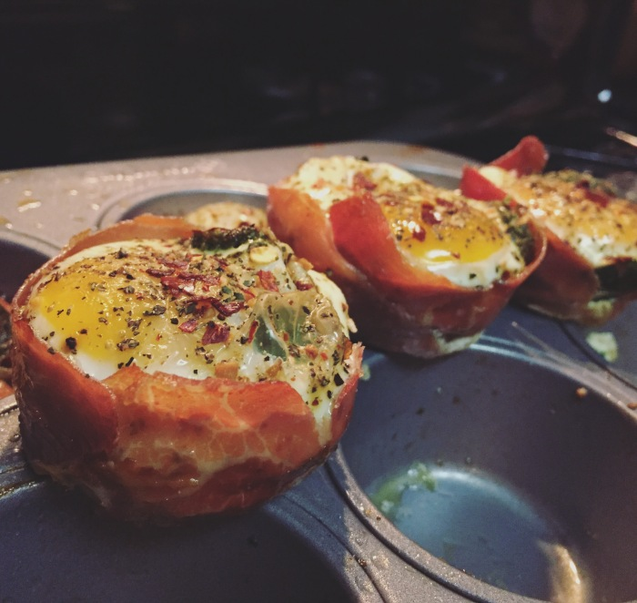Paleo Catwon Prosciutto Wrapped Egg Muffins